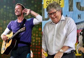 """João Azevedo responde Coldplay sobre ações ambientais: """"Contem conosco"""""""