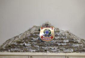 Um total de 240 kg foram encontrados com os suspeitos