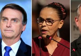 Sem Lula, Temer e Barbosa nas eleições, Bolsonaro lidera; confira