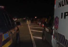 Homem morre após ser atropelado próximo à passarela em Santa Rita