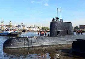 Entrada de água causou curto-circuito e princípio de incêndio em submarino, diz Marinha argentina