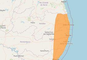 Inmet divulga alertas de chuvas intensas para a Paraíba; confira