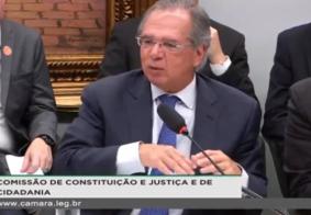 """Paulo Guedes fala sobre valores do """"Renda Brasil"""""""