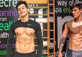 Modelo revela ter formado trisal gay com namorado da mãe de Neymar