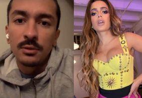 Irmão desabafa sobre saúde de Anitta e nega rumores de Covid-19