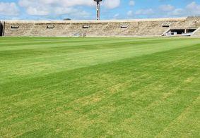 Estádio Almeidão, em João Pessoa, é palco da primeira partida