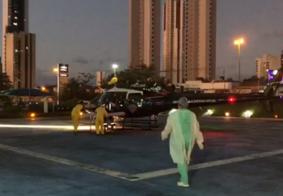 Criança de 10 anos resgatada após afogamento está na UTI do Hospital de Trauma