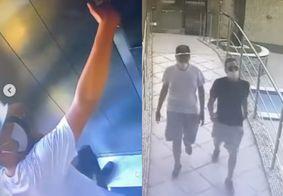 Dupla faz selfie após invadir e roubar apartamento de luxo em João Pessoa