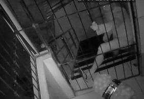 Homem que violou grades e invadiu restaurante é detido