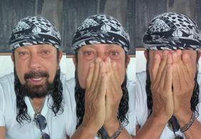 """Em ano sem carnaval, Bell Marques chora e desabafa: """"Não me sinto feliz"""""""