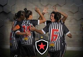 Botafogo-PB goleia Treze por 11 a 0 pelo Campeonato Paraibano Feminino