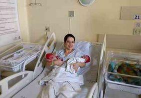 Gêmeos nascem em anos diferentes após mãe dar à luz no final do dia 31 e início do dia 1º