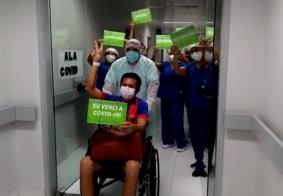 Primeiro paciente do segundo grupo vindo de Manaus recebe alta em João Pessoa