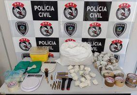 Polícia prende casal que deixava filhos sozinhos para gerir ponto de drogas, na PB