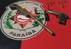 Polícia Militar apreende duas armas em comunidade de João Pessoa