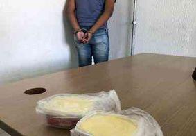 Homem é preso após tentar entrar com drogas no presídio do Róger