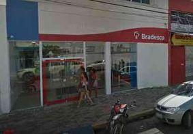 Criminosos violam parede de agência bancária e fogem sem levar nada, em Santa Rita