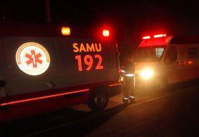Equipes do Samu foram acionadas