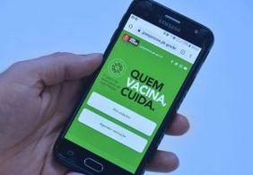 Atualização cadastral no aplicativo Vacina João Pessoa está disponível a partir desta sexta-feira (22)