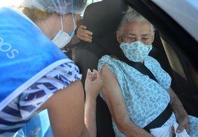 Vacinação contra covid-19 na capital paraibana