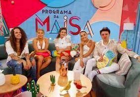 Programa da Maisa recebe Luísa Sonza, Vitão e Giovanna Lancellotti