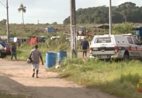 Homem tenta derrubar drone da PM com boné e é detido na Paraíba