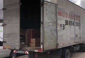 Polícia prende suspeitos de ataque a caminhões com eletrodomésticos