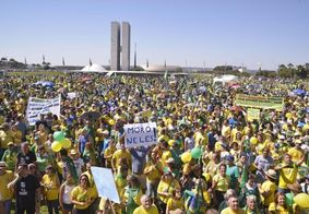 Manifestações a favor de Bolsonaro ocorrem em 15 estados e no Distrito Federal