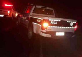 Pedestre morre após ser atropelado no litoral Sul da Paraíba