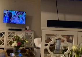 Ela acabou descobrindo que estava sendo traída pelo namorado após ele mandar uma foto dizendo que estava assistindo a Olimpíada com os amigos