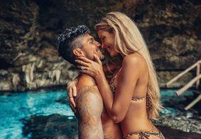 Gabriel Medina e Yasmin Brunet compartilham click apaixonado nas redes sociais; veja
