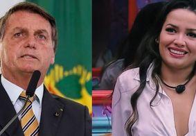 Internautas criticam Bolsonaro por curtida em comentário contra Juliette