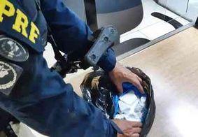 Na PB: homem é preso com cocaína que seria distribuída em Pernambuco