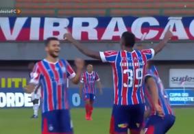 Copa do Nordeste: Bahia assume liderança da chave ao golear Sport