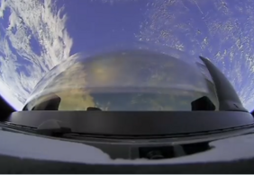 Vídeo   Confira como foi a aterrissagem da tripulação da Inspiration