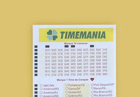 Bilhete da Timemania