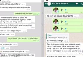 """Cantor paraibano é vítima de estelionatários no Whatsapp: """"Muito triste"""""""