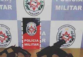 Operação apreende 9 armas em um intervalo de 3h na região metropolitana de João Pessoa