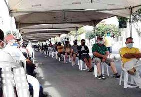 Cidade paraibana dá exemplo de como organizar uma fila para saque do auxílio emergencial