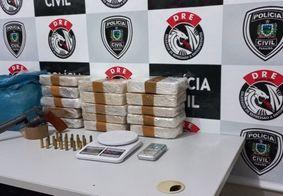 Cearenses são presos com mais de 15 quilos de crack em Campina Grande
