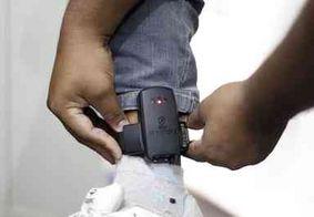 Cerca de 60 detentos de Santa Rita serão monitorados por tornozeleira eletrônica