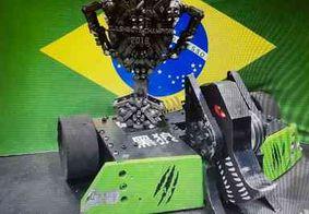 Brasileiros vencem campeonato internacional de lutas de robôs na China