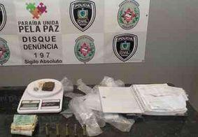 Suspeito de homicídio e tráfico de drogas é preso em Alagoa Grande, na PB