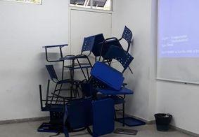 Professora flagra atirador durante troca de tiros em universidade na Paraíba; veja foto