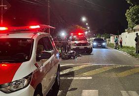 Motociclista morre após ser baleado no bairro dos Novais