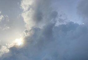 A previsão é de nebulosidade variável para este sábado (8)