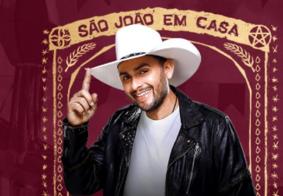 Ao vivo: acompanhe a primeira Live de São João do cantor Mano Walter