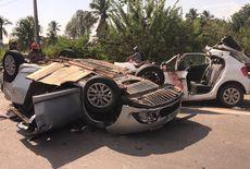 Homem morre e cinco pessoas ficam feridas em acidente na BR-230