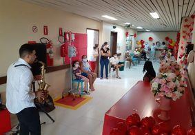 Mães internadas em hospital recebem homenagem em João Pessoa