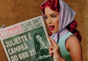 Montagem de Anitta com Juliette aparece em Twitter de premiação de música